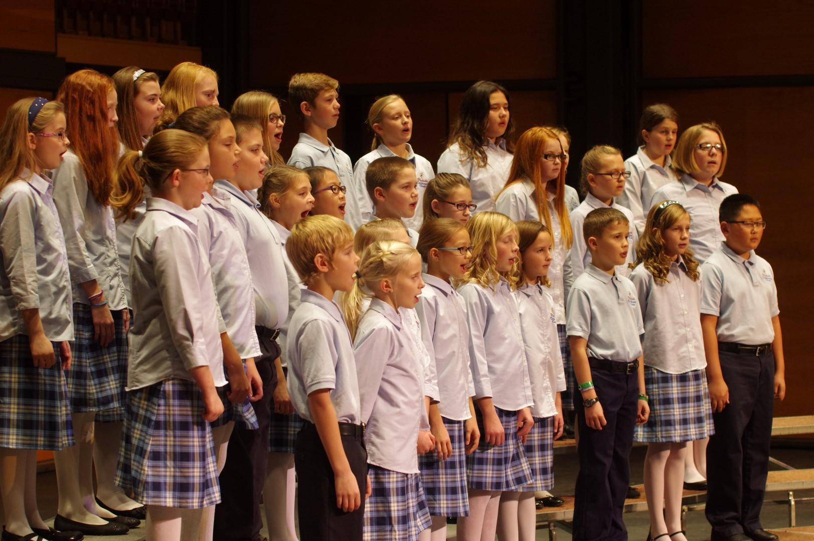 Platteville Children's Choir Apprentice Singers